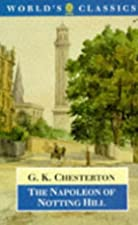 Another cover of the book The Napoleon of Notting Hill by G. K. (Gilbert Keith) Chesterton