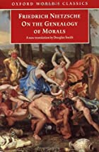 Another cover of the book The genealogy of morals by Friedrich Wilhelm Nietzsche