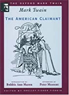 Another cover of the book The American Claimant by Mark Twain