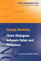 Another cover of the book Three Dialogues Between Hylas and Philonous by George Berkeley