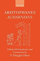 Another cover of the book The Acharnians by Aristophanes