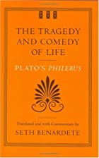 Another cover of the book Philebus by Plato