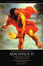 Another cover of the book Aeschylus by Aeschylus