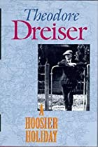 Another cover of the book A Hoosier holiday by Theodore Dreiser
