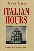 Another cover of the book Italian Hours by Henry James