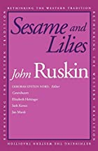 Another cover of the book Sesame and Lilies by John Ruskin