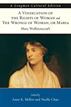 Cover of the book Vindication of the Rights of Woman by Mary Wollstonecraft