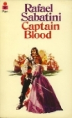 Another cover of the book Captain Blood by Rafael Sabatini