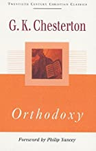 Cover of the book Orthodoxy by G.K. Chesterton