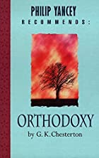 Another cover of the book Orthodoxy by G.K. Chesterton