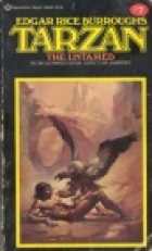 Another cover of the book Tarzan the Untamed by Edgar Rice Burroughs
