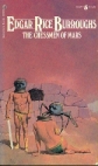 Another cover of the book The Chessmen of Mars by Edgar Rice Burroughs