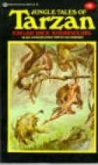 Another cover of the book Jungle Tales of Tarzan by Edgar Rice Burroughs