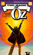 Another cover of the book The Magic of Oz by L. Frank Baum