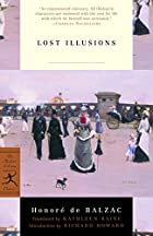 Another cover of the book Lost Illusions by Honoré de Balzac
