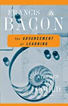 Another cover of the book The Advancement of Learning by Francis Bacon