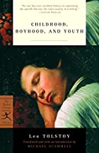 Another cover of the book Childhood, boyhood, youth by Leo Tolstoy