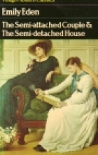 Another cover of the book The semi-attached couple by Emily Eden