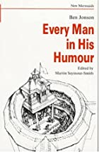 Another cover of the book Every Man in His Humour by Ben Jonson