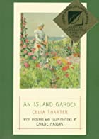 Another cover of the book An island garden by Celia Thaxter