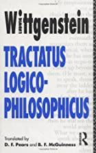 Another cover of the book Tractatus Logico-Philosophicus by Ludwig Wittgenstein