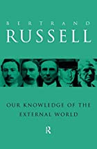 Cover of the book Our knowledge of the external world by Bertrand Russell