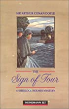 Cover of the book The sign of four by Arthur Conan Doyle