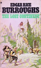 Another cover of the book The Lost Continent by Edgar Rice Burroughs