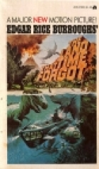 Another cover of the book The Land That Time Forgot by Edgar Rice Burroughs