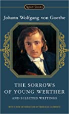 Another cover of the book The Sorrows of Young Werther by Johann Wolfgang von Goethe