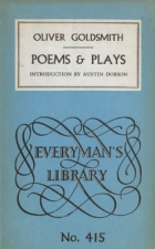 Cover of the book The poems and plays of Oliver Goldsmith by Oliver Goldsmith