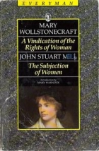 Another cover of the book The subjection of women by John Stuart Mill