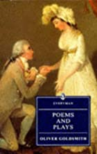 Another cover of the book The poems and plays of Oliver Goldsmith by Oliver Goldsmith