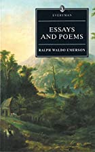 Another cover of the book Essays by Ralph Waldo Emerson