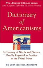 Cover of the book Dictionary of Americanisms by John Russell Bartlett