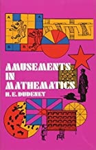 Cover of the book Amusements in Mathematics by Henry Ernest Dudeney