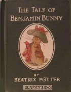 Another cover of the book The Tale of Benjamin Bunny by Beatrix Potter