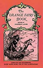 Another cover of the book The Orange Fairy Book by Andrew Lang
