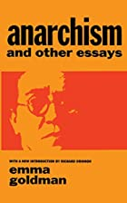 Cover of the book Anarchism and Other Essays by Emma Goldman