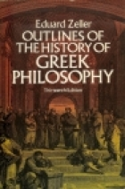 Another cover of the book Outlines of the history of Greek philosophy by Eduard Zeller