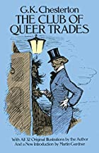 Another cover of the book The Club of Queer Trades by G.K. Chesterton