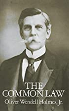 Another cover of the book The Common Law by Oliver Wendell Holmes Jr.