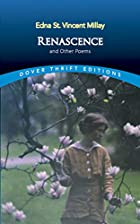 Cover of the book Renascence and Other Poems by Edna St. Vincent Millay