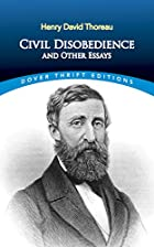 Cover of the book Civil Disobedience by Henry David Thoreau