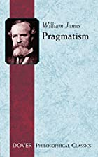 Another cover of the book Pragmatism by William James