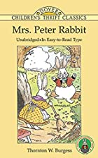 Cover of the book Mrs. Peter Rabbit by Thornton W. Burgess