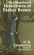 Another cover of the book The Innocence of Father Brown by G.K. Chesterton