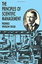 Another cover of the book The Principles of Scientific Management by Frederick Winslow Taylor