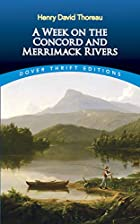 Another cover of the book A Week on the Concord and Merrimack Rivers by Henry David Thoreau