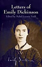 Cover of the book Letters of Emily Dickinson by Emily Dickinson